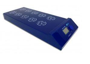 Agitador Magnético Digital Multiposição; Agita até 0,4 Litros por posição; 1100 rpm; 120°C