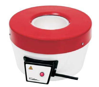 Mantas Aquecedoras: s/ Reguladores de Potência; Temperatura max. 650°C; Capacidades: 250 ml à 2,0 Litros