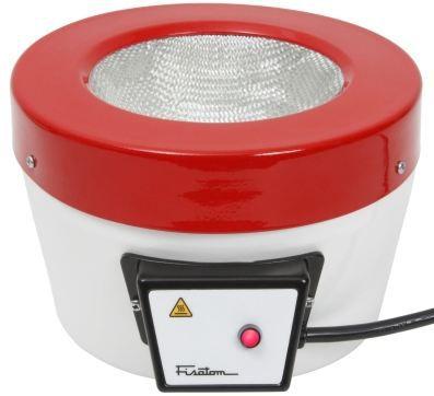 Mantas Aquecedoras s/ Regulador de Potência; Temperatura max. 300°C; Capacidades: 50ml à 50 Litros