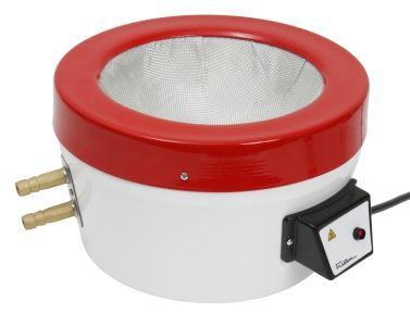 Manta Aquecedora; Temperatura max. 350ºC; Resistência Blindada; s/ Regulador de Potência; c/ refrigeração até -20ºC; Capacidades: 1,0 Litro à 5,0 Litros