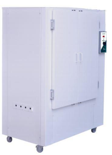 ESTUFA DIGITAL C/ CIRCULAÇÃO E RENOVAÇÃO DE AR FORÇADA, CAPACIDADE 480 LITROS, TEMPERATURA: +5°C à 200°C