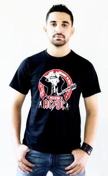 Camiseta ACDC Preta
