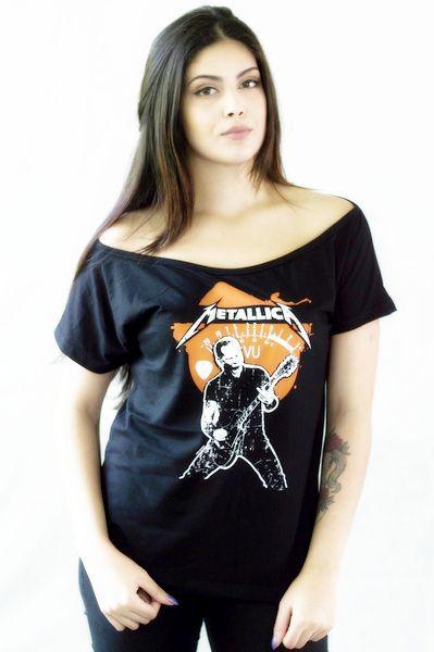 Camisa Metallica