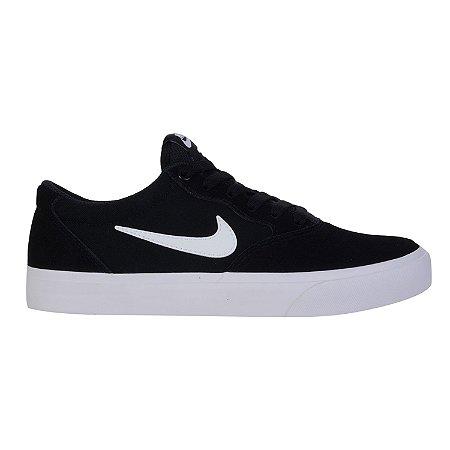 Tênis Nike SB Chron SLR Preto e Branco