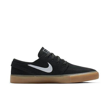 Tênis Nike SB Zoom Janoski Cnvs Rm Preto/Natural