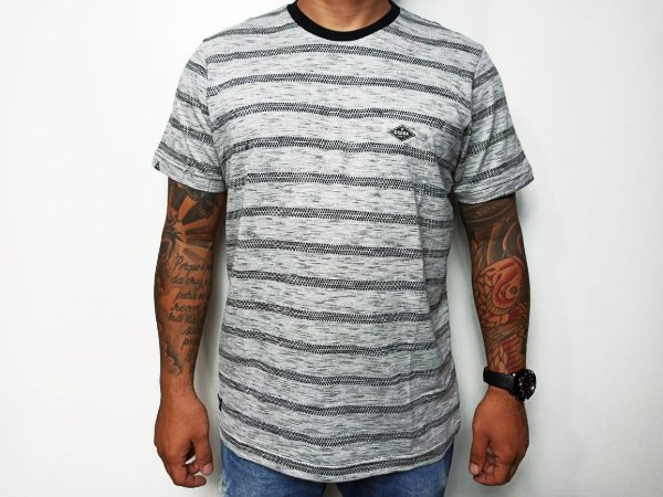 Camiseta Okdok Masculina Listrada ( 1200366N )