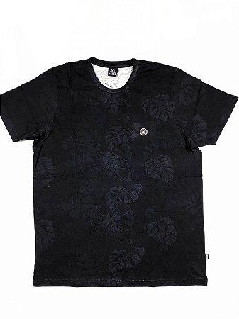 Camiseta Okdok Floral Digital Clássica ( 1200340N )