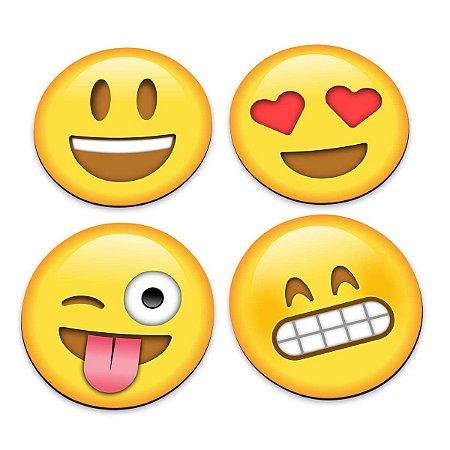 Porta Copos Emoticons - Emojis