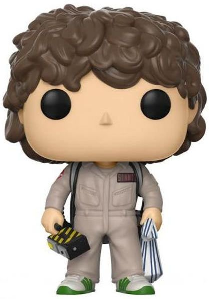 Funko Pop - Dustin - Caça-fantasmas - Stranger Things