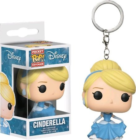Pocket POP! Chaveiro - Cinderela - Disney