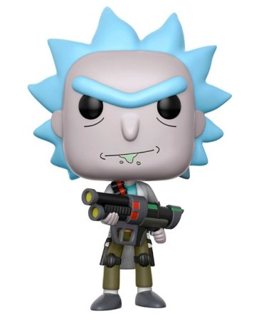 Funko Pop! - Weaponized Rick - Rick and Morty #172