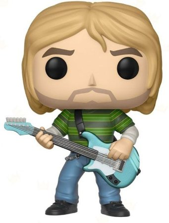 Funko Pop! - Kurt Cobain - Nirvana #65