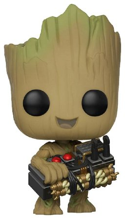 Funko Pop! Groot Holding Bomb - Guardiões Da Galáxia 2 #263
