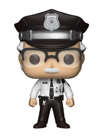 Funko Pop! - Stan Lee Policial Exclusivo #283