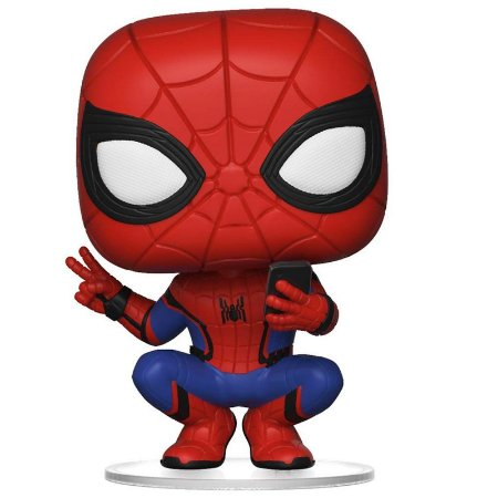 Funko Pop! - Homem-Aranha (Spider-Man) - Homem-Aranha Longe de Casa #468