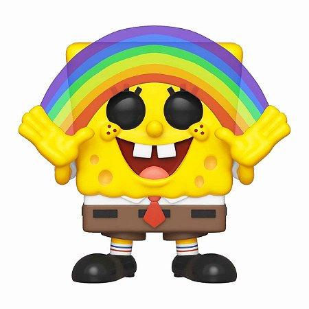Funko Pop! - Bob Esponja Calça Quadrada Arco-íris #558