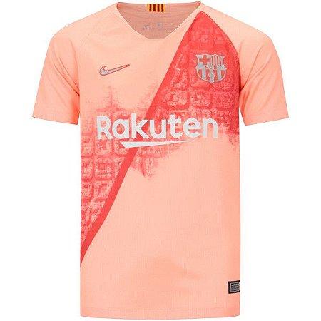 d1a7a1f7fd 0e14e68df5c Camisa Barcelona III 18 19 Nike - Masculina - Outlet Magrinho -  Os . ...