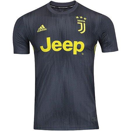 b94ce55e73 Camisa Juventus III 18 19 adidas - Masculina - Outlet Magrinho - Os ...
