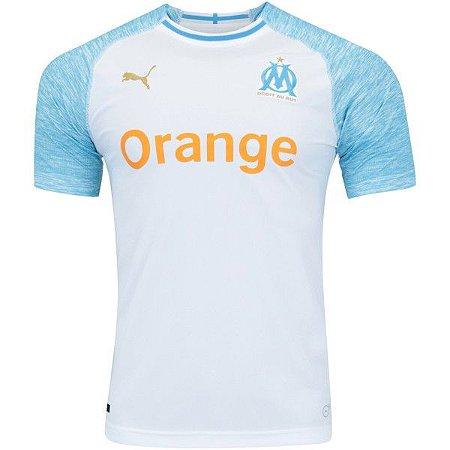 9fc001df94 Camisa Olympique de Marseille I 18 19 Puma - Masculina (Frete Grátis)