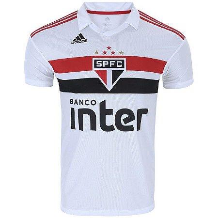 2b0c27878e Camisa do São Paulo I 2018 adidas - Masculina - Outlet Magrinho - Os ...
