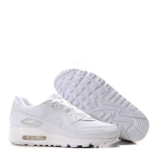 2e021741b0f Tênis Nike Air Max 90 Leather Branco Frete Grátis - Outlet Magrinho ...