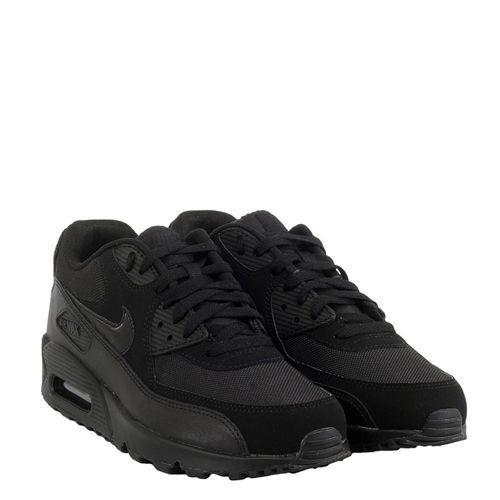 cozy fresh 08e63 b8e0c Tênis Nike Air Max 90 Essential All Black Frete Grátis