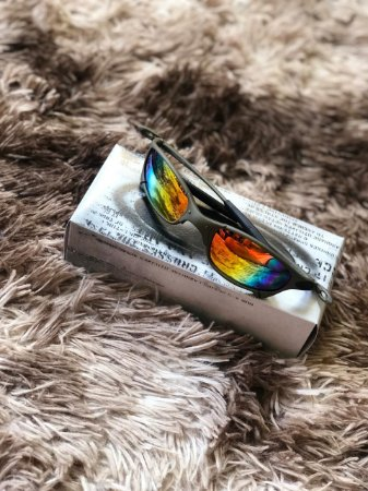16ac69f434 Óculos Oakley Juliet Lente Arco-iris Frete Grátis - Outlet Magrinho ...