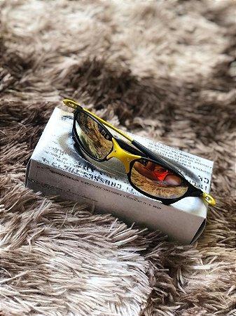 0f96ae437 Óculos Oakley Juliet 24k lente Dourada Frete Grátis - Outlet ...