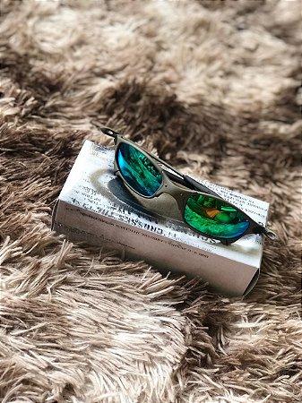 Óculos Oakley Doublex X Lente Verde Frete Grátis