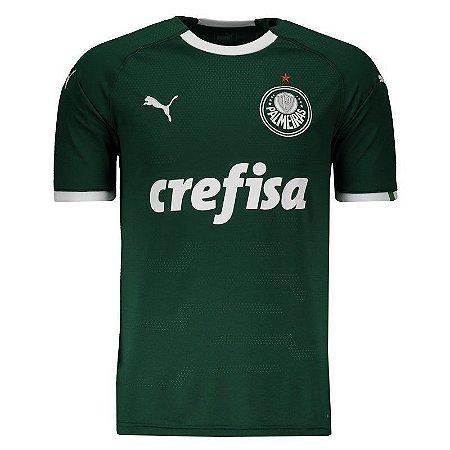 Camisa Puma Palmeiras Verde I 2019 Masculina (Frete Grátis)