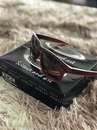 Óculos Oakley Holbrook Lente Marrom Frete Grátis