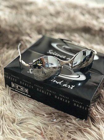 e711c155f Óculos Oakley Tailend Lente Prata Armação Prata Frete Grátis ...