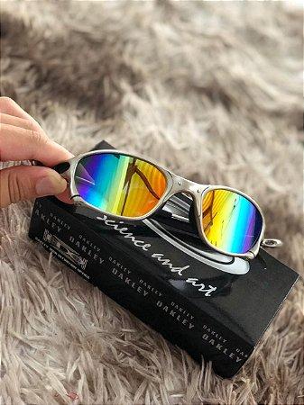 dd9c2607d Óculos Oakley Doublex X Lente Arco-Iris Armação Plasma Frete Grátis ...