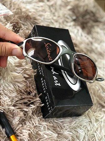 Óculos Oakley Doublex X Tio 2 Lente Marrom Frete Grátis
