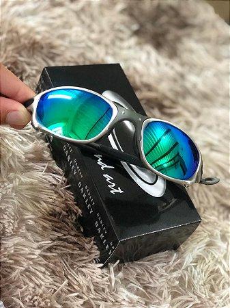 Óculos Oakley Doublex X Tio 2 Lente Verde Frete Grátis