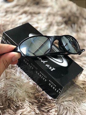 e912beacf Óculos Oakley Doublex X Lente Prata Armação Preta Frete Grátis ...