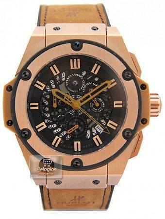 ed8a082a6d5 Réplica de Relógio Hublot King Power Grand Limited Frete Grátis ...