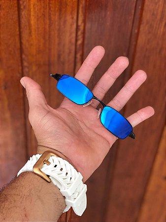 Óculos Oakley Personalizado Mc Menor Mr Lente Azul Frete Grátis