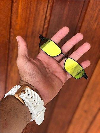 2c21d9630 Óculos Oakley Personalizado Mc Menor Mr Lente Dourada Frete Grátis ...