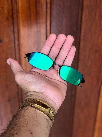9c7cabaaf Óculos Oakley Personalizado Mc Menor Mr Lente Verde Frete Grátis ...