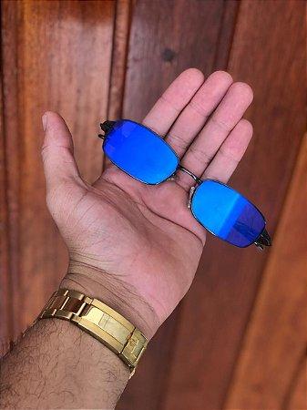 Óculos Oakley Personalizado 2 Mc Menor Mr Lente Azul Frete Grátis