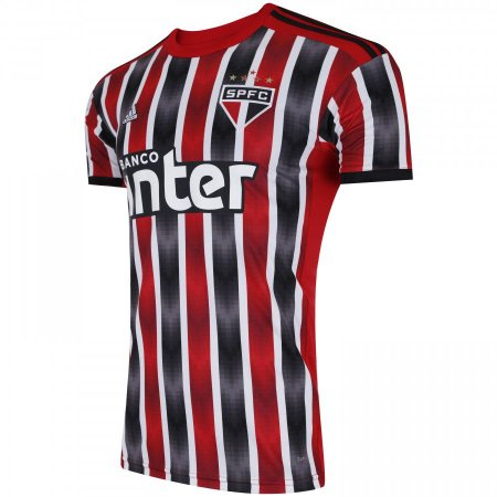 Camisa Sao Paulo Listrada 19-20 - Masculina (Frete Grátis)