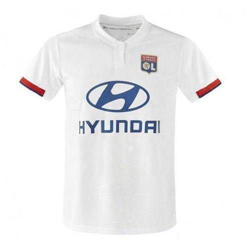 Camisa Olympique Lyonnais Branca 19/20 adidas - Masculina Frete Grátis