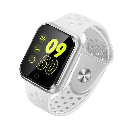 Relógio Smartwatch Esportivo Branco Frete Gratis