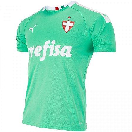 Camisa Palmeiras Verde III 2019 Puma - Masculina Frete Grátis