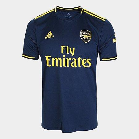 Camisa Arsenal Azul 19/20 Adidas - Masculina Frete Grátis