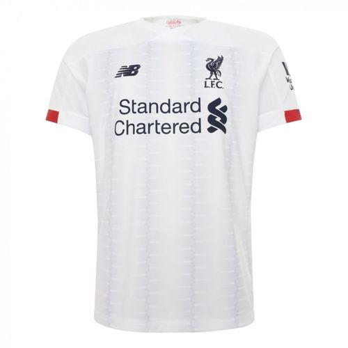 Camisa Liverpool Branca 19/20 - Masculina Frete Grátis
