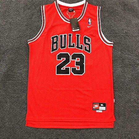 Camiseta Basquete Bulls Vermelha 23 19/20 - Masculina Frete Grátis