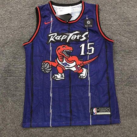 Camiseta Basqueta  Raptors Rocha 15 19/20 Nike - Masculina Frete Grátis