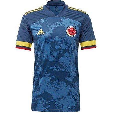 Camiseta Colômbia Azul 19/20 adidas - Masculina Frete Grátis